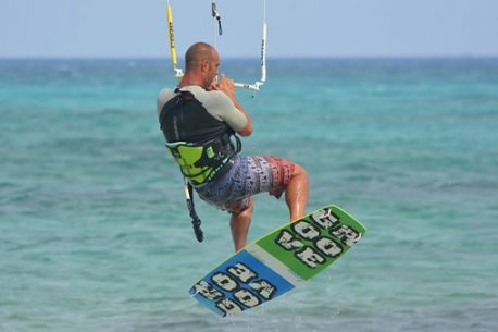 kite surf alle Mauritius