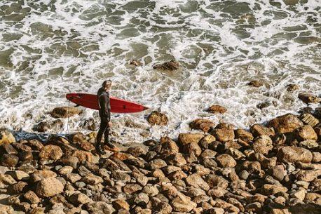 soggiorno surf in India