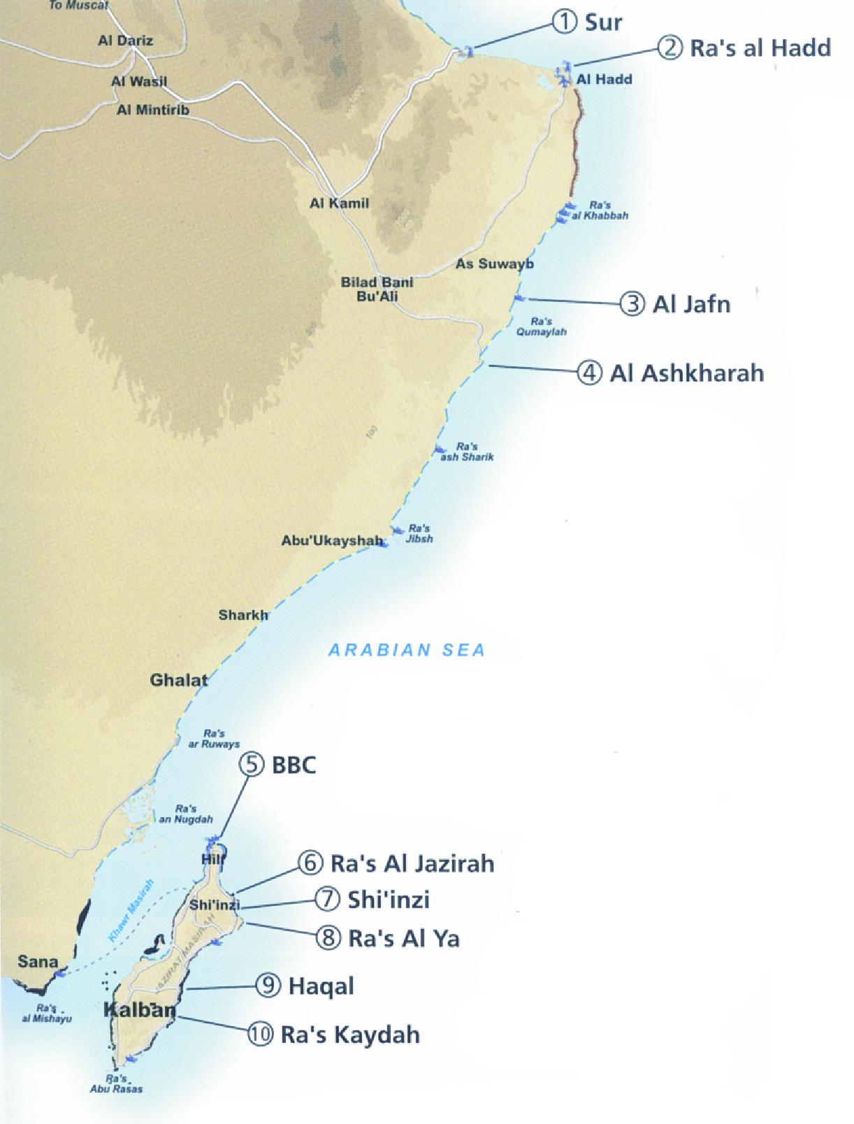 Soggiorno surf in oman tutto il fascino del medio oriente for Soggiorno mare oman