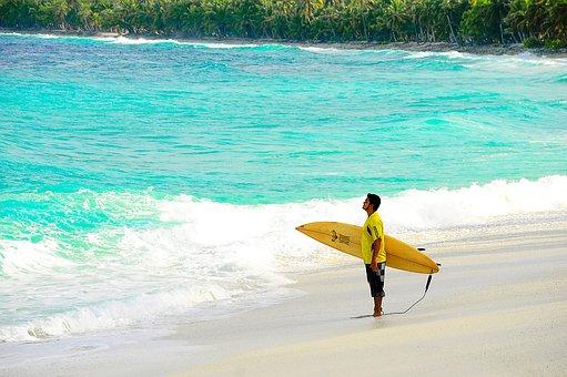 surf alle Fiji