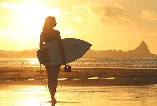 surf in Nuova Zelanda