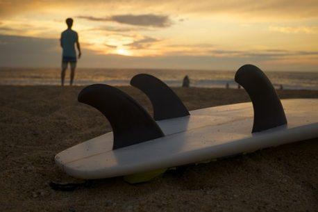 Surf sull'isola di Pasqua